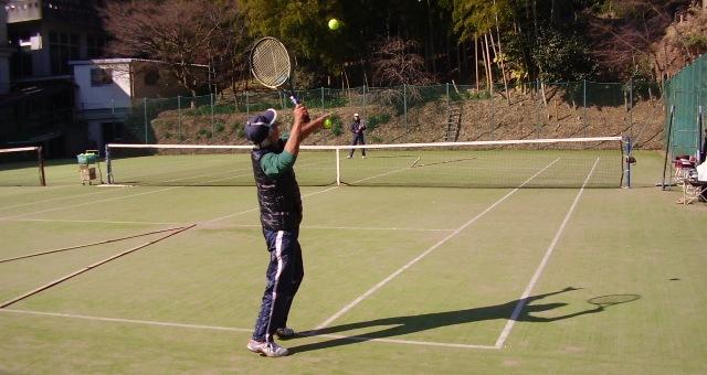 クロステニス オムニでプレー